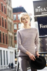 Textured Pullover ©Vogue Knitting Winter 2014/15